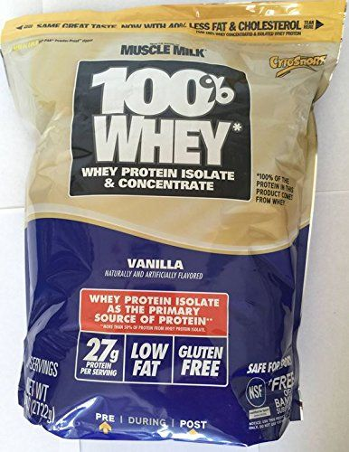 Cytosport 100 Whey Protein Powder Vanilla 6 Lb Bag From The Makers Of Muscle Milk Check This Awesome Product By Going To Link At Image