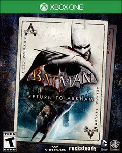 Batman Return To Arkham Xbox One Box Art With Images Batman