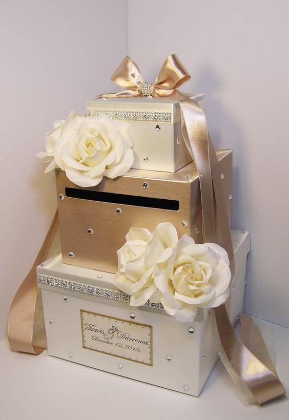 Please Read Shop Announcement Http Www Etsy Com Shop Bwithustudio 50th Wedding Anniversary Card Box Card Box Wedding Wedding Gift Card Box