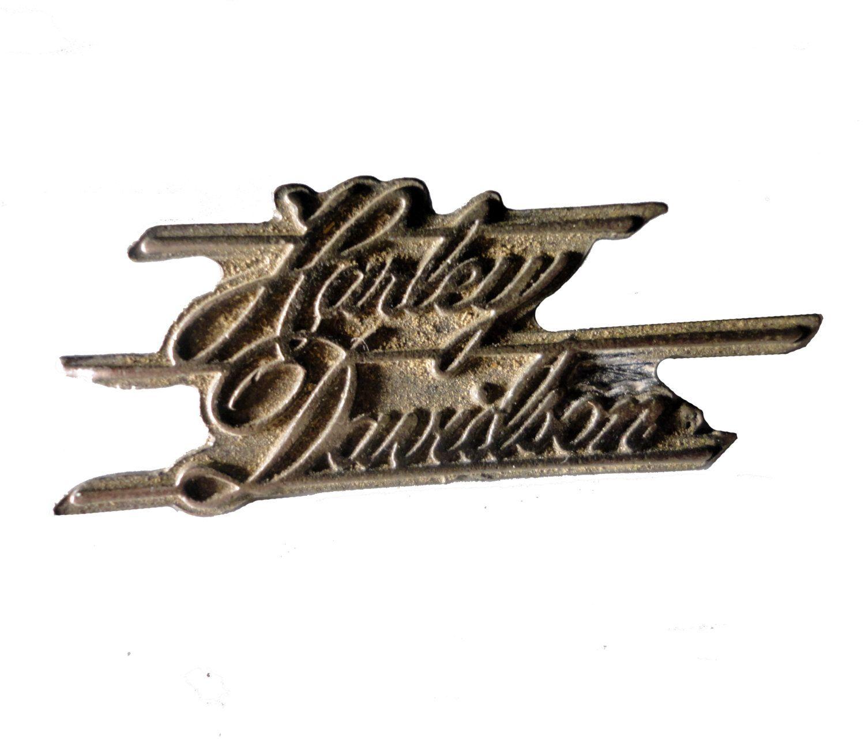 HARLEY DAVIDSON Badge Cursive vintage pin lapel badge metal motorcycle Official Merchandise