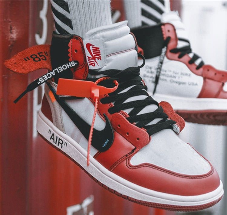 OFF white x Nike Air Jordan 1 The Ten In design 76661f585