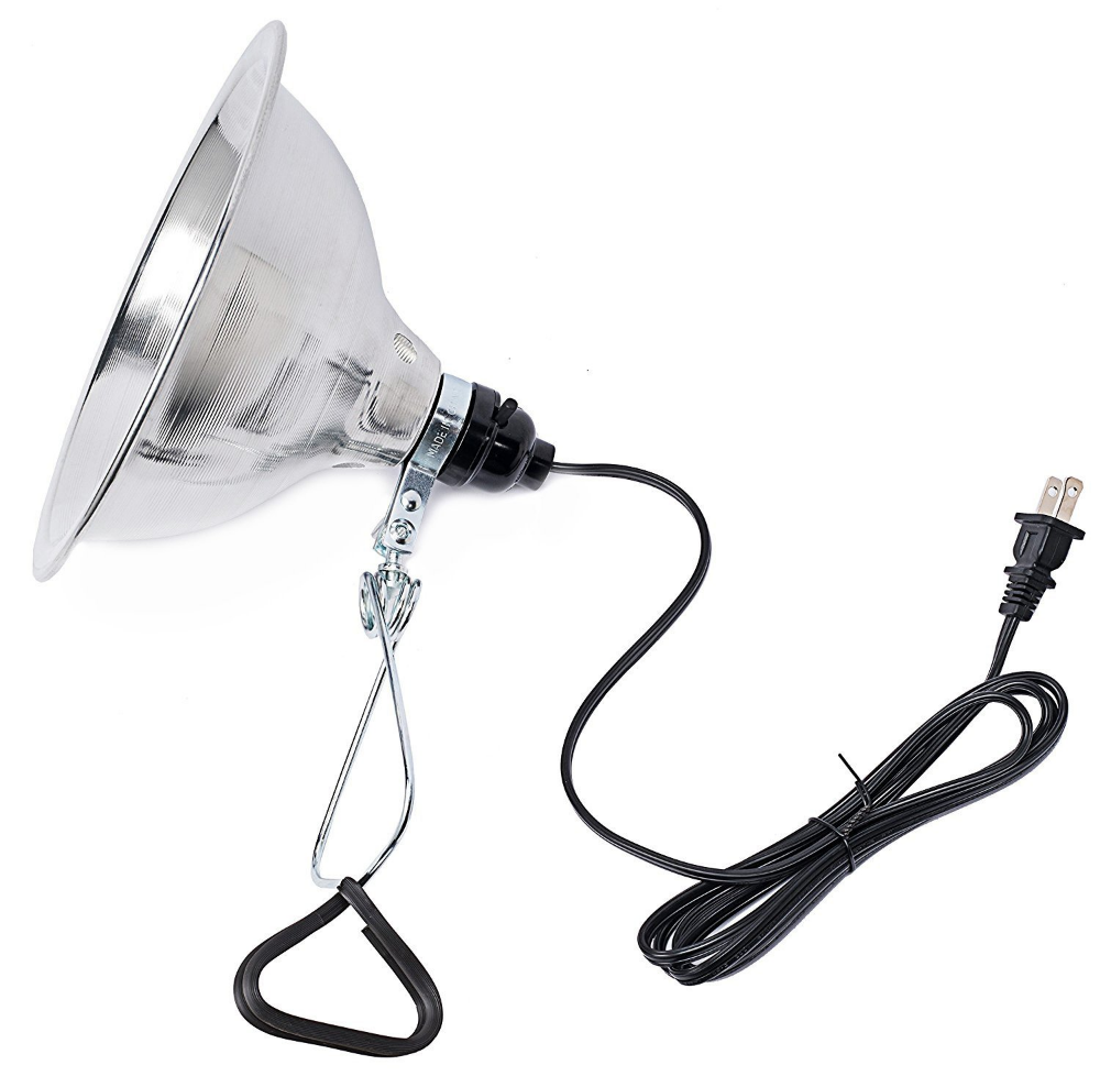 Amazon Com Simple Deluxe Clamp Lamp Light With 8 5 Inch Aluminum Reflector Up To 150 Watt E26 E27 Socket No Bulb Included 6 Clamp Lamp Lamp Light Heat Lamps
