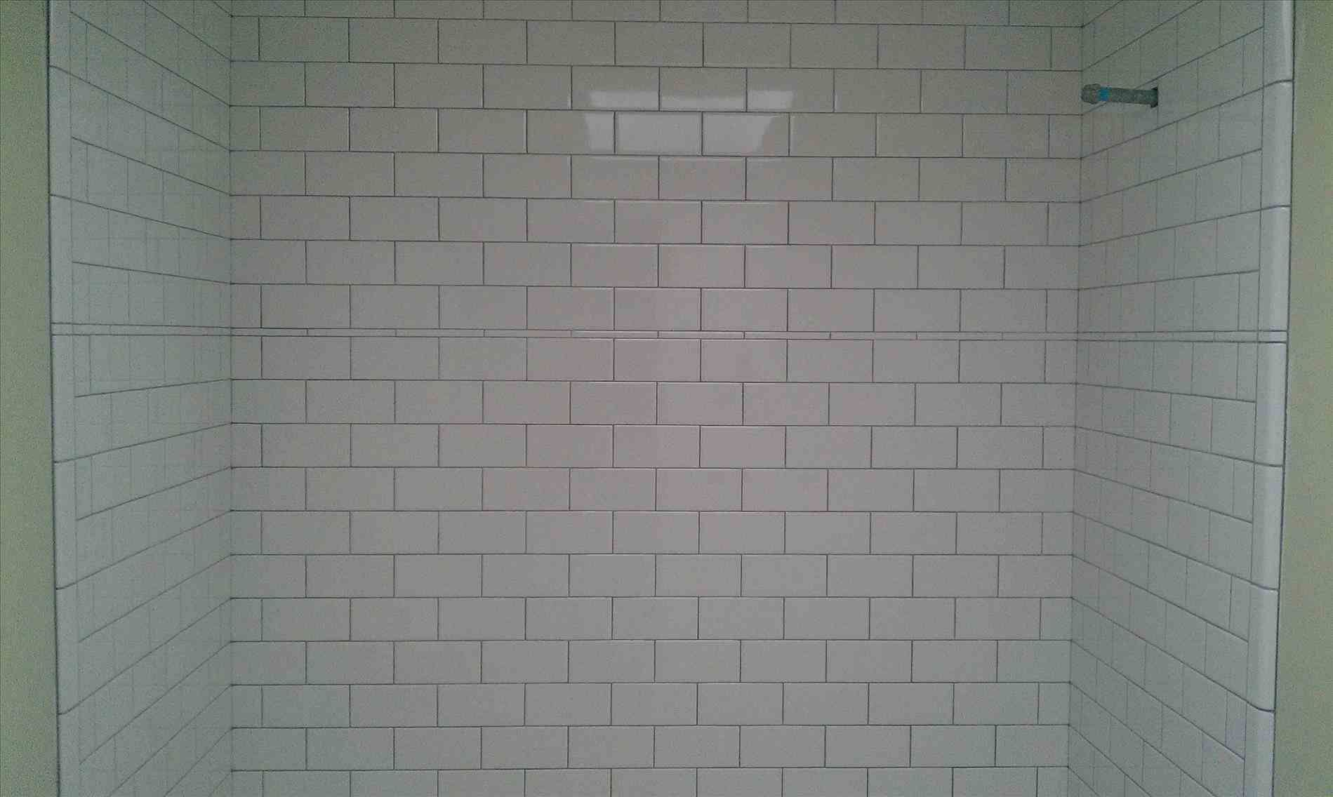 New Post White Subway Tile White Grout Bathroom Visit Bobayule