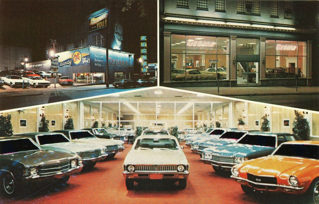 Degnan Chevrolet Philadelphia Pa 1972 Chevy Dealerships