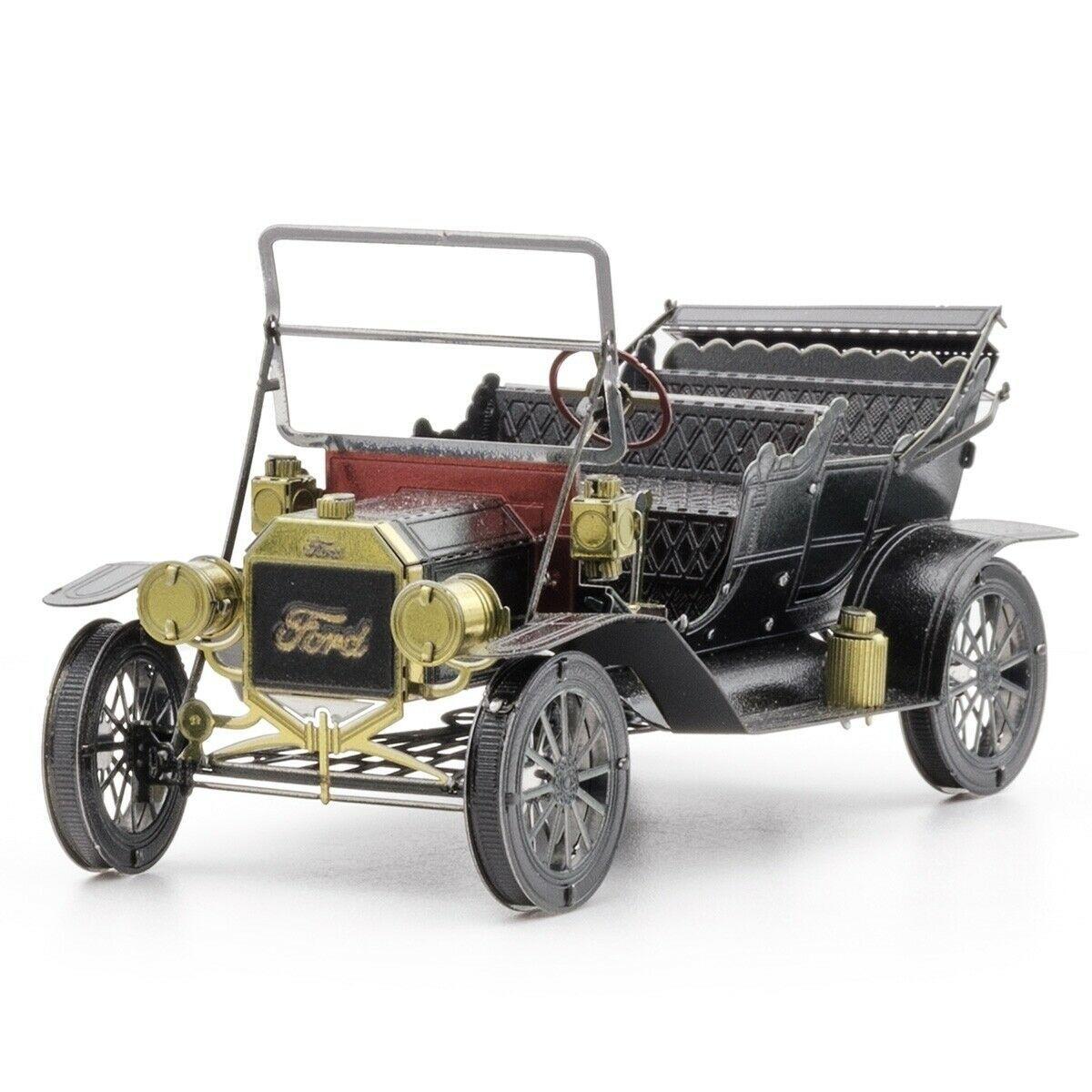 Fascinations Metal Earth 1908 Ford Model T Dark Green 3d Steel