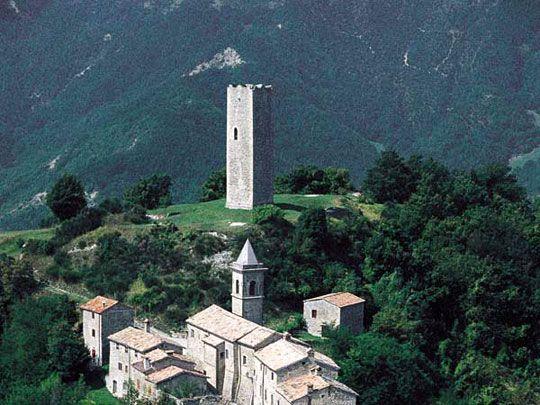 Bascio, Pennabilli (Rimini) e le sue frazioni