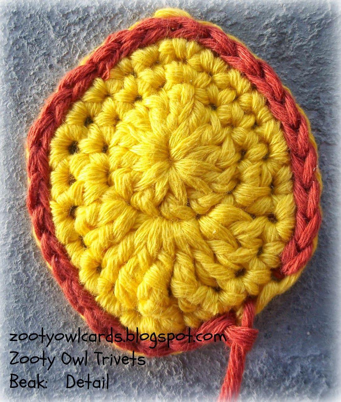 crochet trivet | Tejidos | Pinterest | Bordado de principiante ...