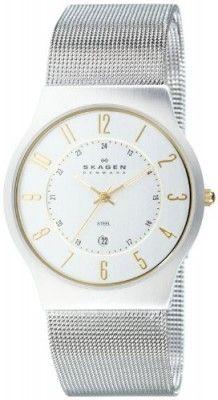 Relógio Skagen Men s 233XLSGS Slimline Mesh Watch  Relógio  Skagen ... 6420715af7