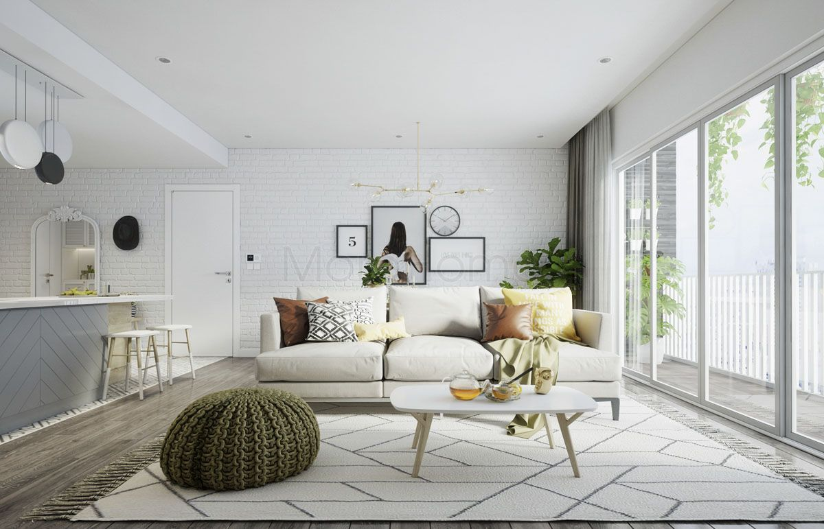 2 Scandinavian Apartments For Young Families Scandinavian Apartment Scandinavian Style Home Neoclassical Interior Design