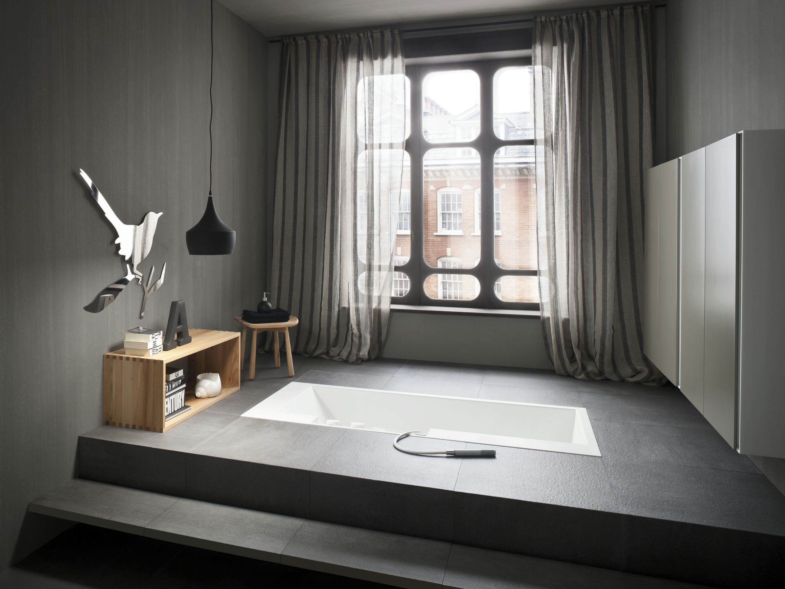 FONTE Badezimmerhocker Aus Ulme By Rexa Design Design Monica Graffeo