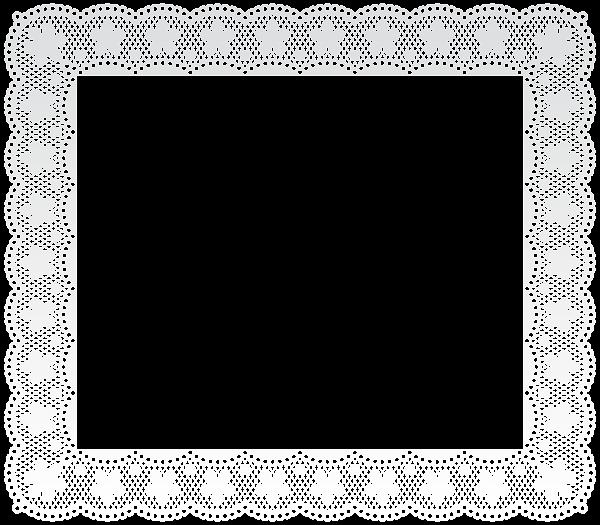Lace Border Frame Png Clip Art Image Clip Art Clip Art Borders Free Clip Art