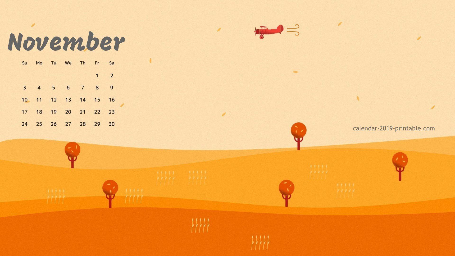 November 2019 Amazing Calendar Wallpaper Calendar 2019