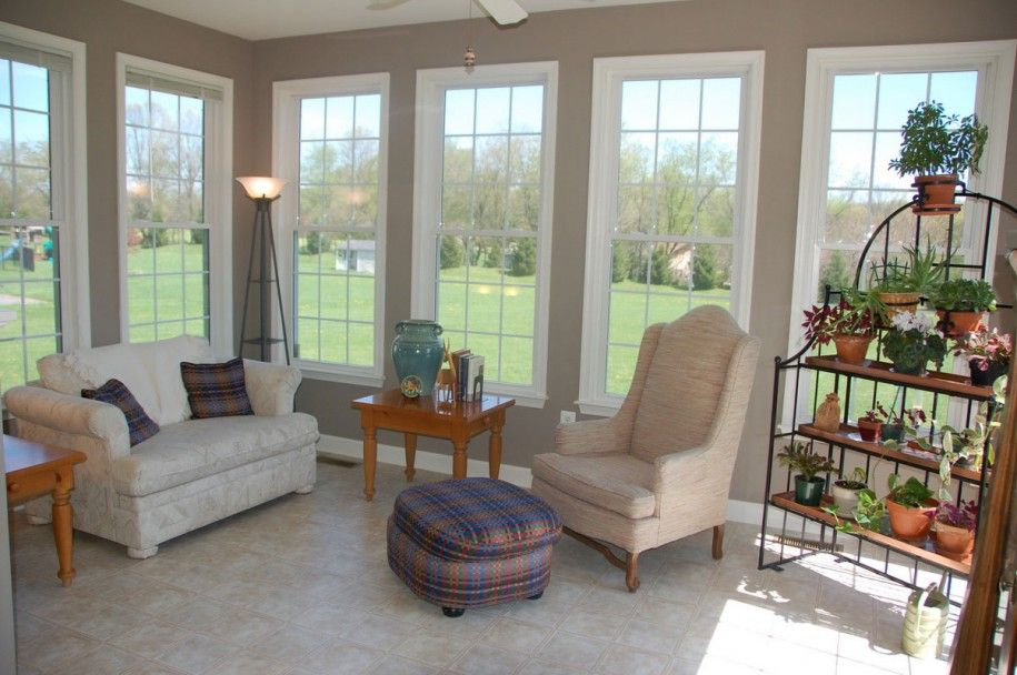 Four seasons sunroom 2 for the home pinterest sunroom sunroom furniture and sunrooms - Gorgeous home interior decoration with various ikea white flooring ideas ...