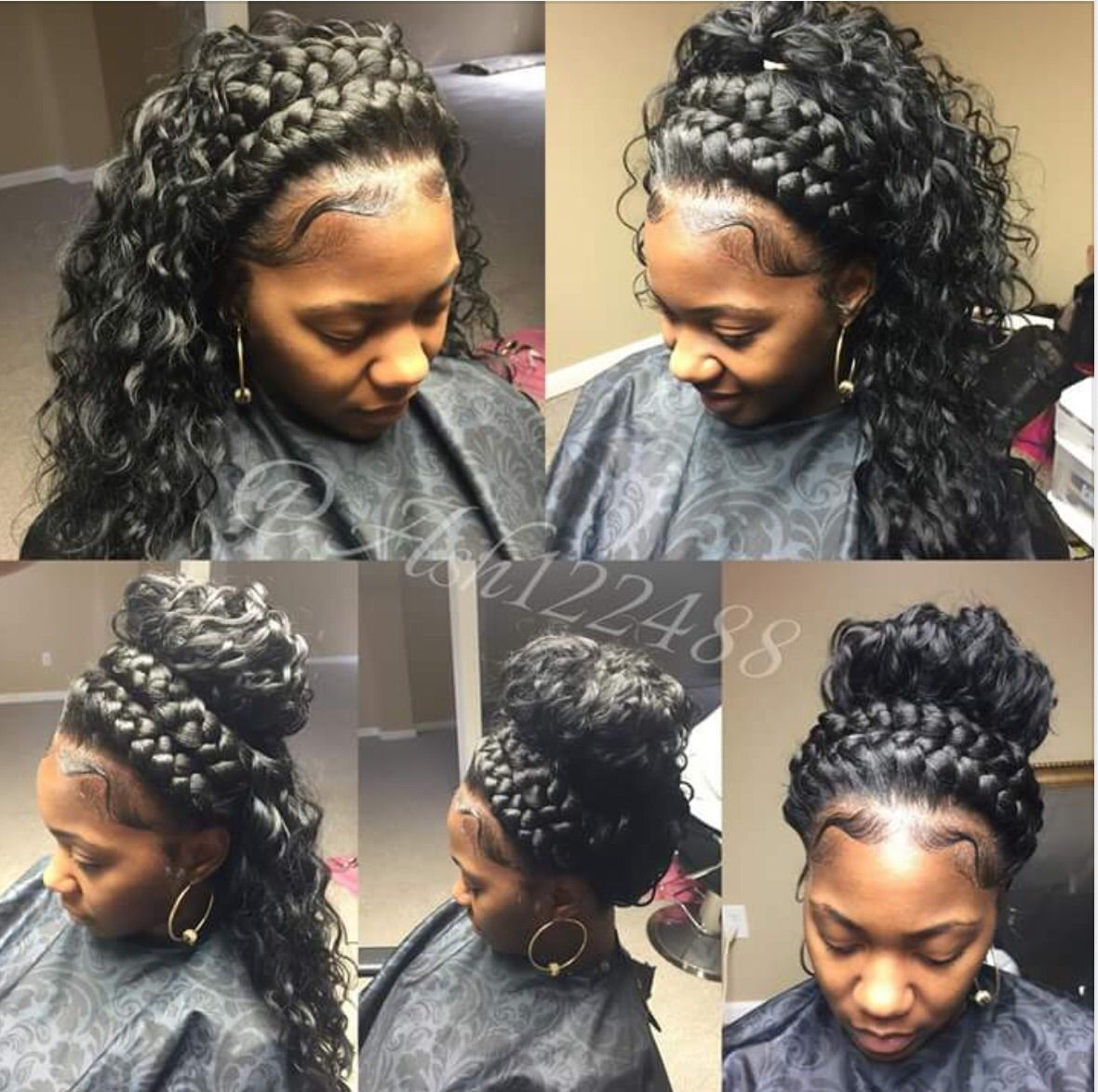 Pin by dee on natural hair crochet braids dreads locs pinterest