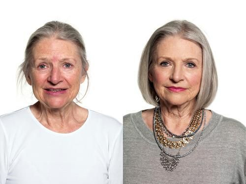 Cool Makeup For Gray Hair | Grey hair, Green eyes and Hair coloring
