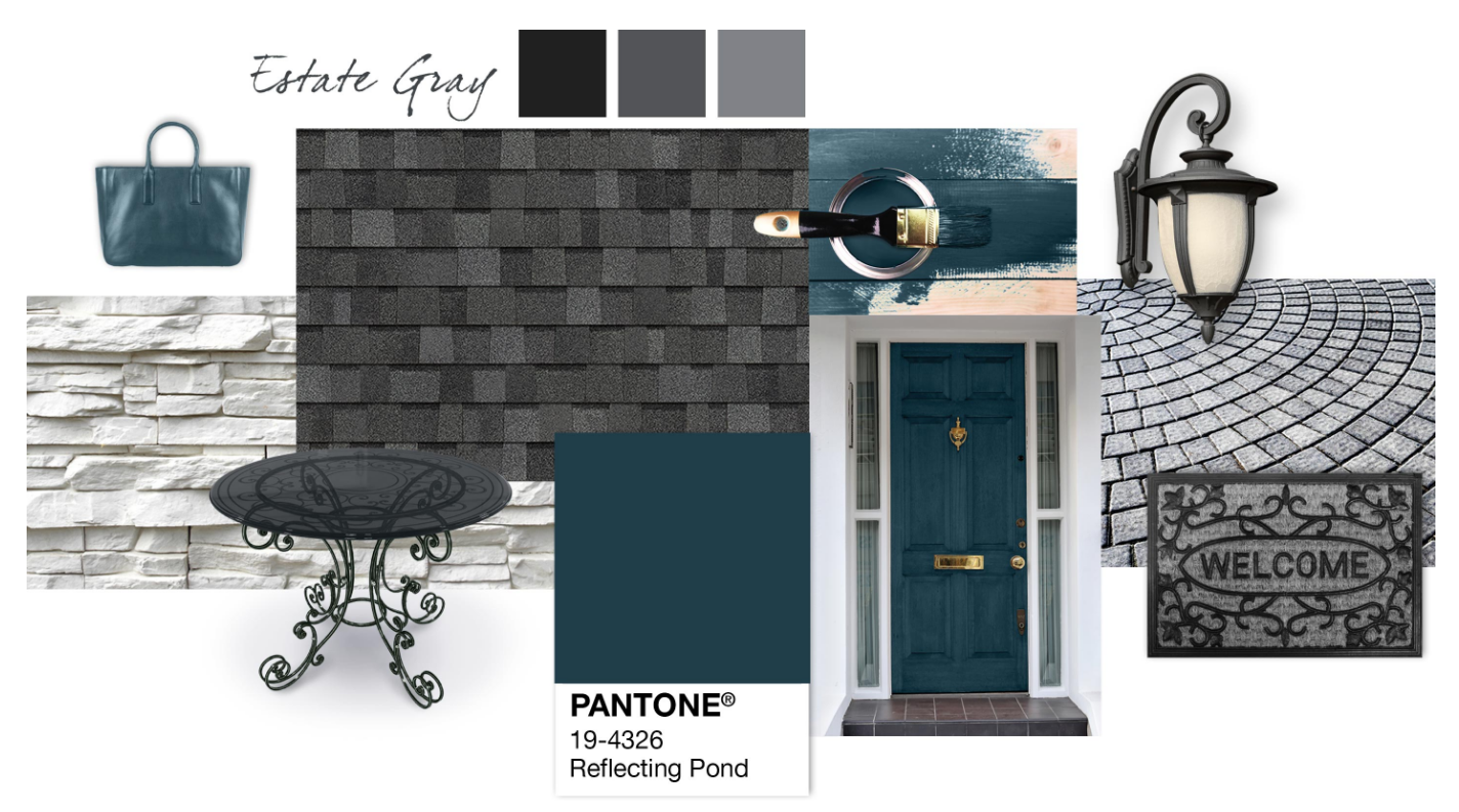 Best Shingle Inspiration Pantone®️ Reflecting Pond Estate 400 x 300
