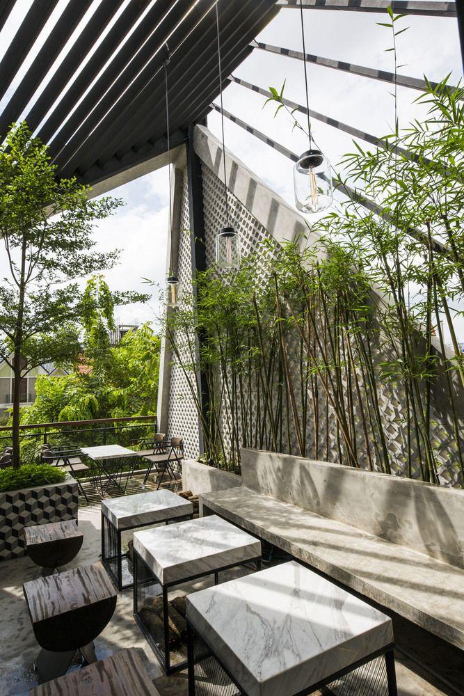 Gallery Of An Garden Café Le House 35