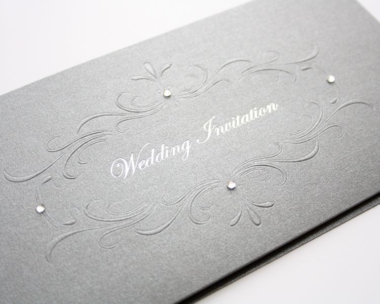 luxury embossed wedding invitations uk other luxury options in