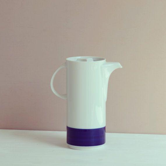 Vintage coffee  tea pot Thomas by LeFlair on Etsy, €23.00