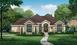 Traditional House Plan 3 Bedrooms 3 Bath 2398 Sq Ft Plan 63 540