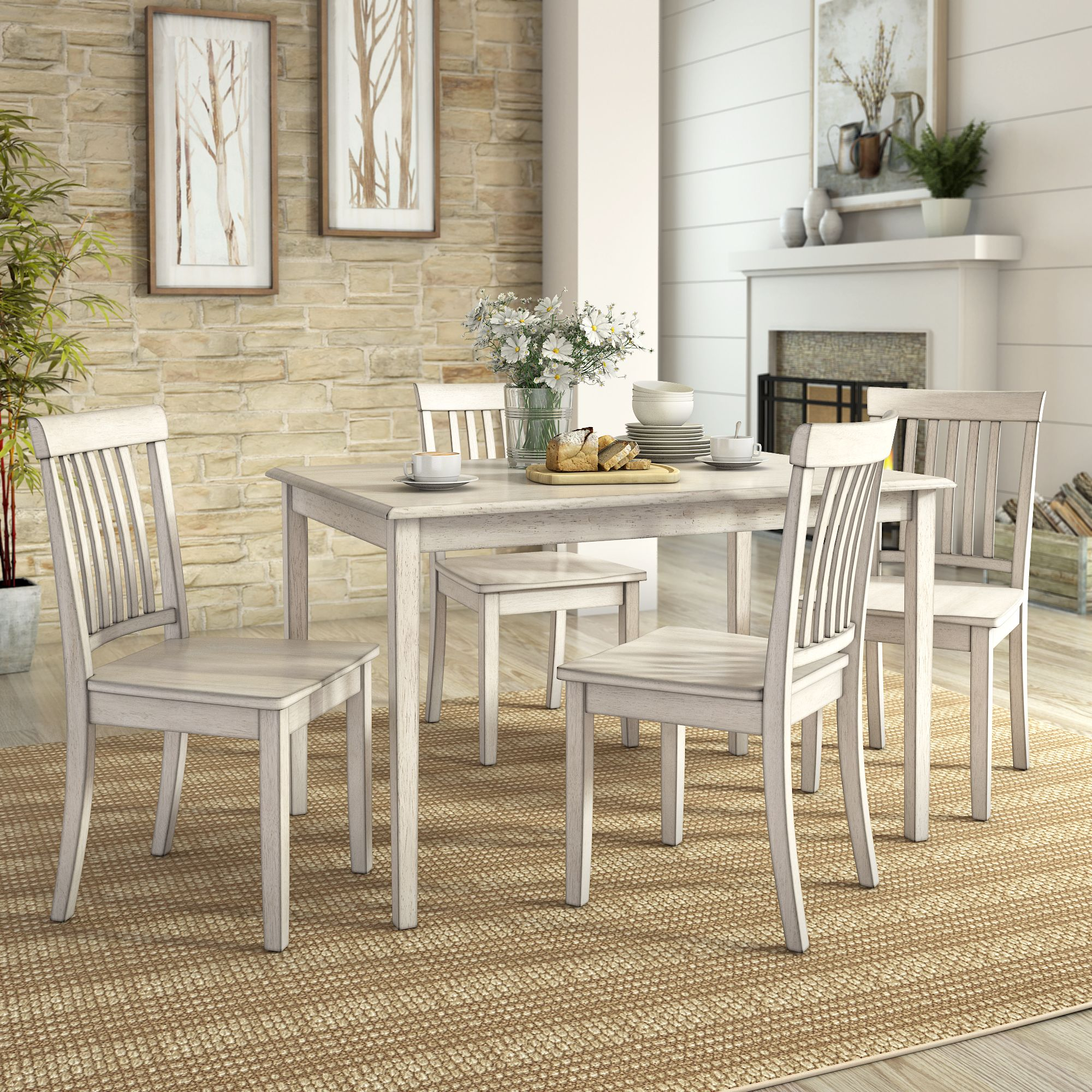 Home in 2019 House 5 piece dining set, Dining set