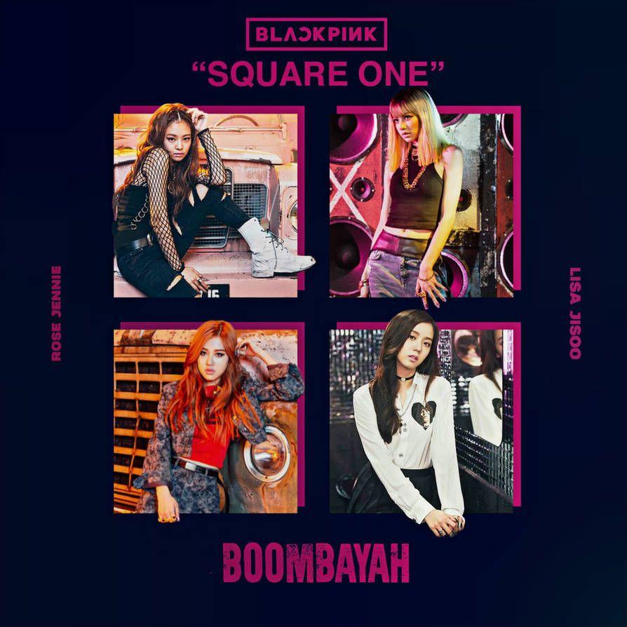 BLACKPINK BOOMBAYAH / SQUARE ONE album cover by LEAlbum