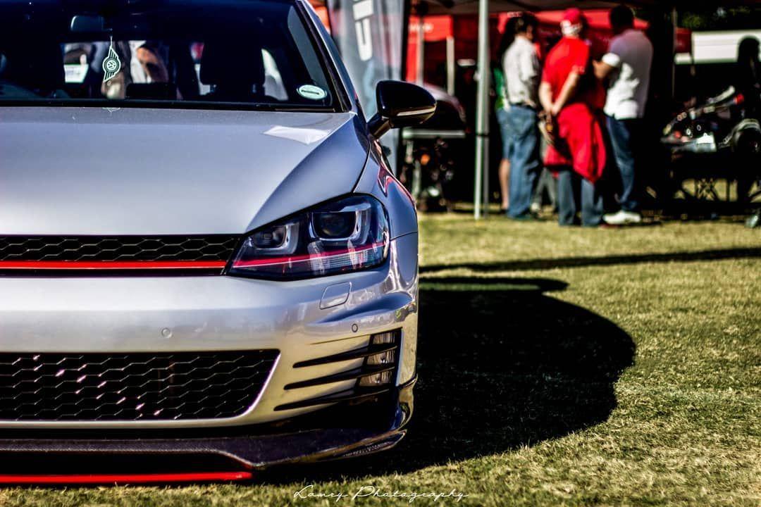 Vw Golf Golfgti Gtimk7 Mk7 Gti7 Gti Volkswagen Vag Bagged Air Suspension Stance Stancecars Stancenation Lowered Parko Golf Gti Gti Stance Cars