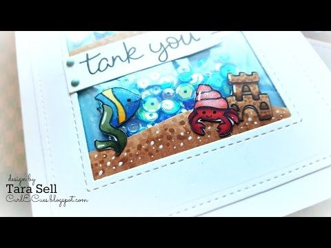 Mint Owl Studio: Adding a Pop of Color featuring Get Well Critters - YouTube