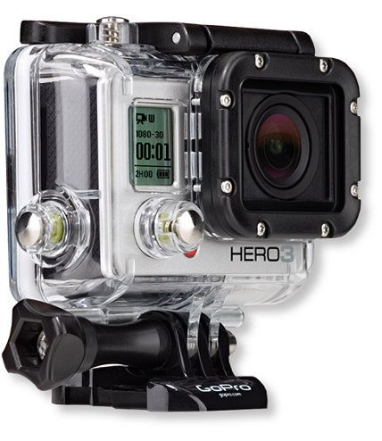 Gopro Hero 3 Silver Edition Cameras And Accessories Free Shipping At L L Bean Gopro Hd Gopro Gopro Underwater