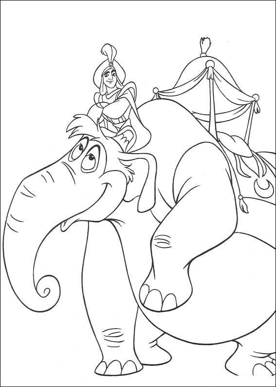 Aladdin Coloring Pages - Bing Images | Disney coloring | Pinterest ...