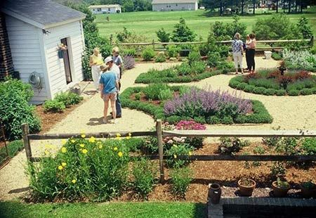 Herb Garden Designed By Katherine Brooks Bloomin Gardens Inc