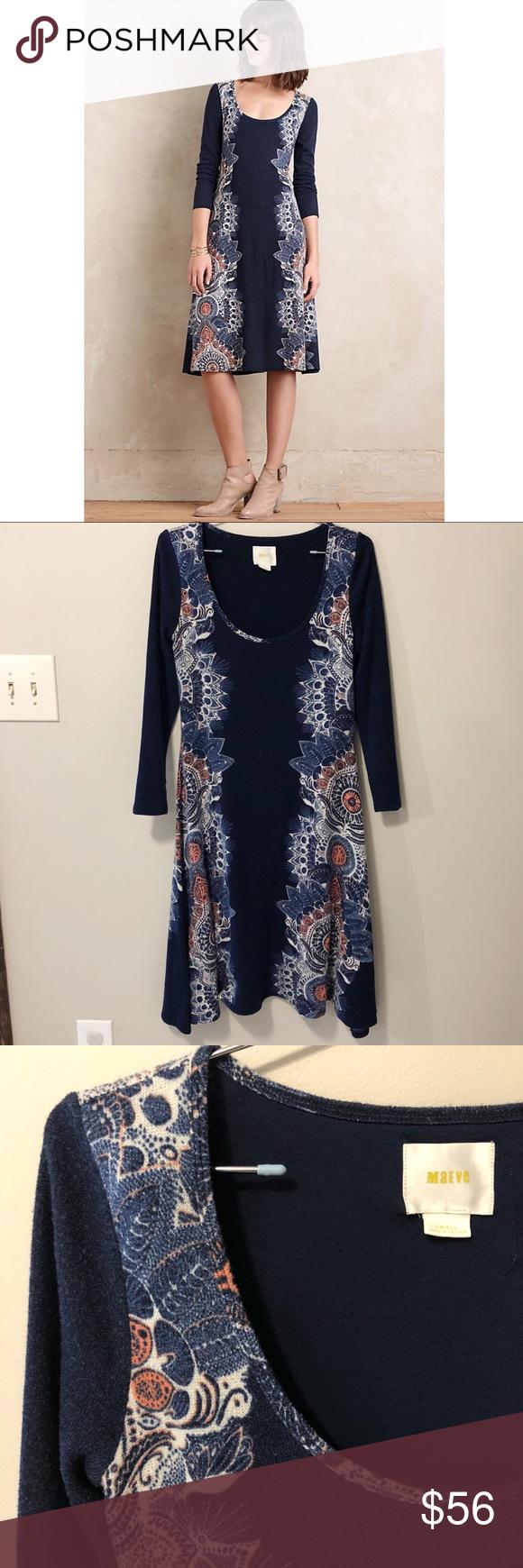 1450da09f82d Maeve | Eira Sweater Boho Modi Dress Maeve for Anthropologie Eira 3/4  sleeve sweater