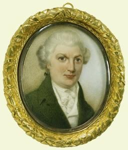 """Eliza's favorite actor, David Garrick -  1800-25. While living in England for 5 yrs., """"...she never missed a single play if David Garrick was to act,"""" wrote her granddaughter."""