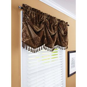 Better Homes and Gardens 52 Boucle Curtain Valance Gardens