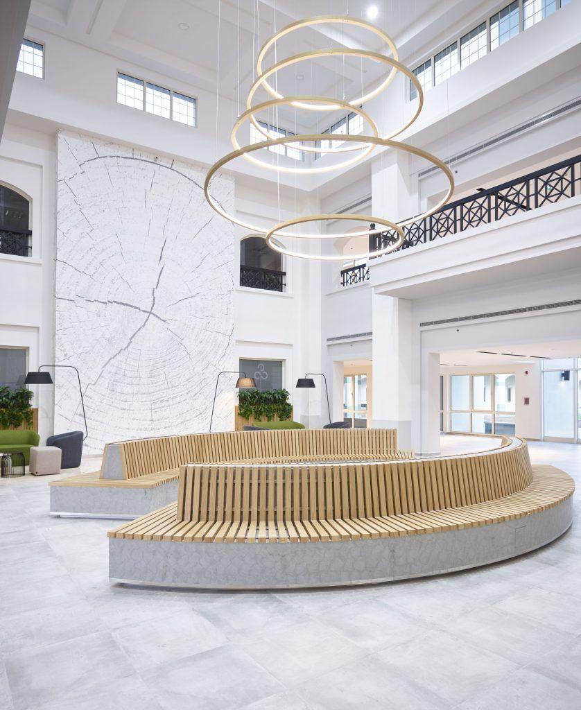 Learning Centre Designs Common Areas At Dubai Knowledge Park Dubai Love That Design Commercial Interior Design Commercial Interiors Common Area