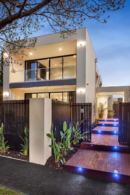 Facade fachada fachadas casas arquitectura y dise o Arquitectura y diseno de casas modernas