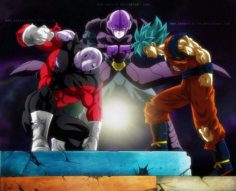 Goku Jiren Hit Universe Survival Collab By Koku78 Anime Dragon Ball Super Dragon Ball Art Dragon Ball Wallpapers