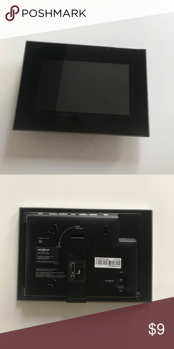 Insignia electronic photo frame Insignia electronic photo frame ...
