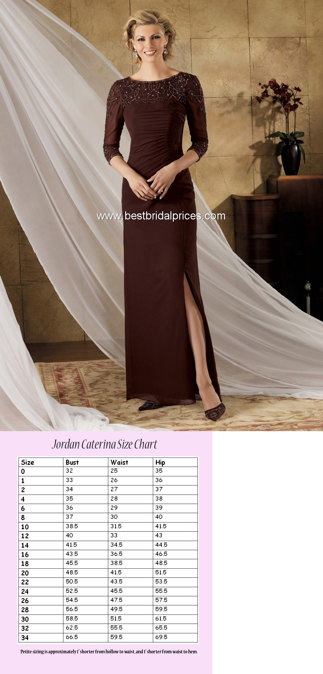 fbb29bf11fb Mother of the Bride 131474  Jordan Caterina Collection 9021 Size 18  Chocolate Color Mother Of The Bride Nwt -  BUY IT NOW ONLY   29.99 on  eBay   mother ...