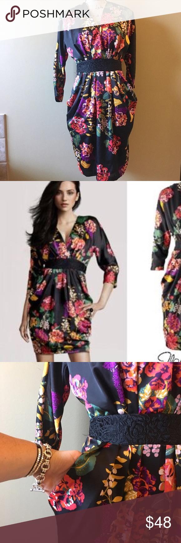 h m conscious collection satin floral dress my posh picks