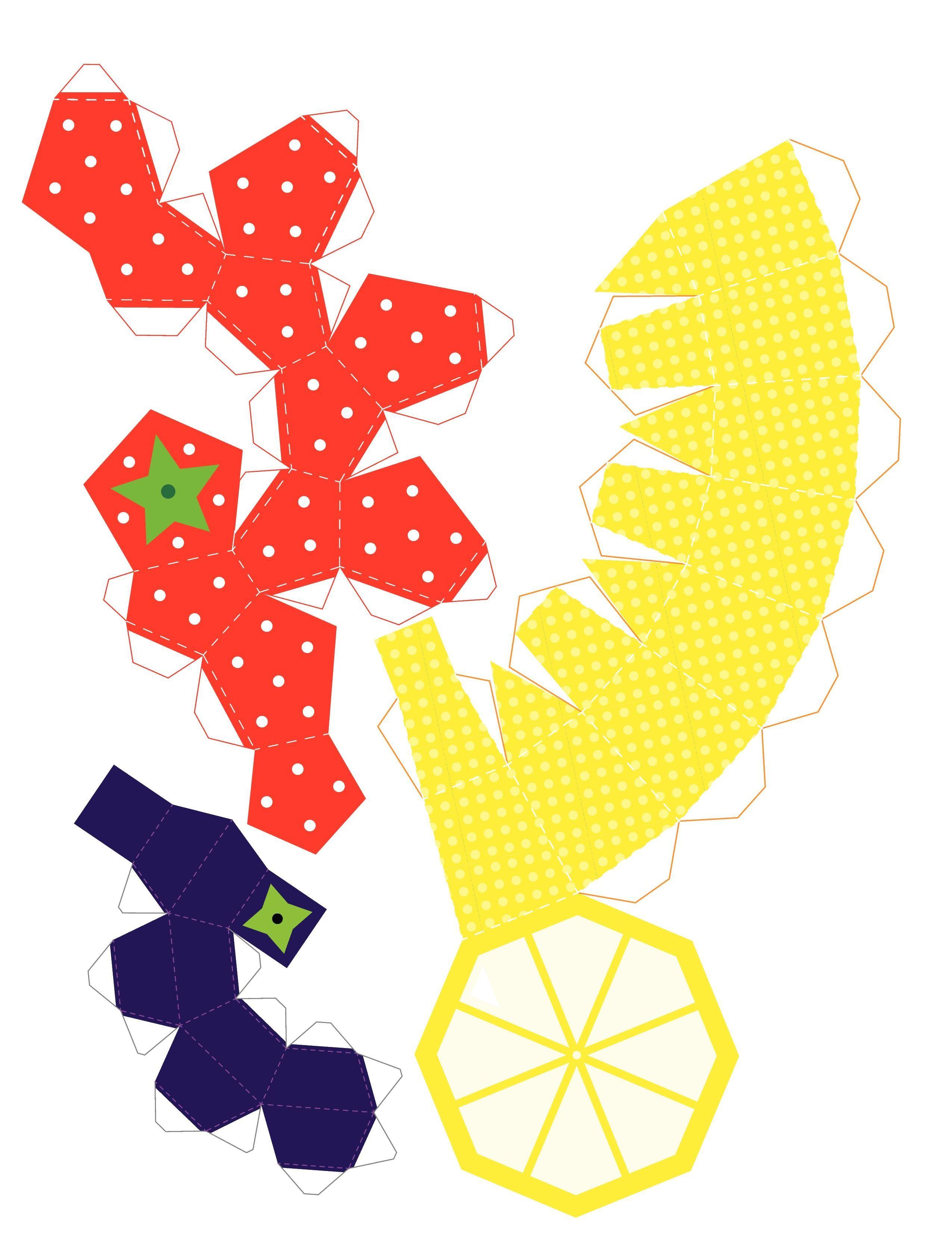 Как сделать фрукт из бумаги своими руками фото 323
