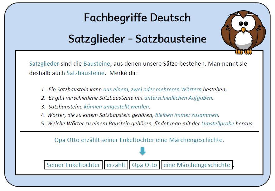 Satzglieder2.jpg 882×611 Pixel   Deutsch   Pinterest
