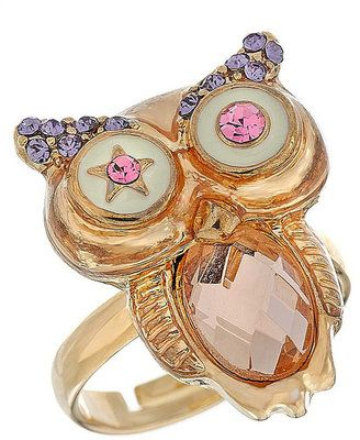 ShopStyle: Stone Owl Ring