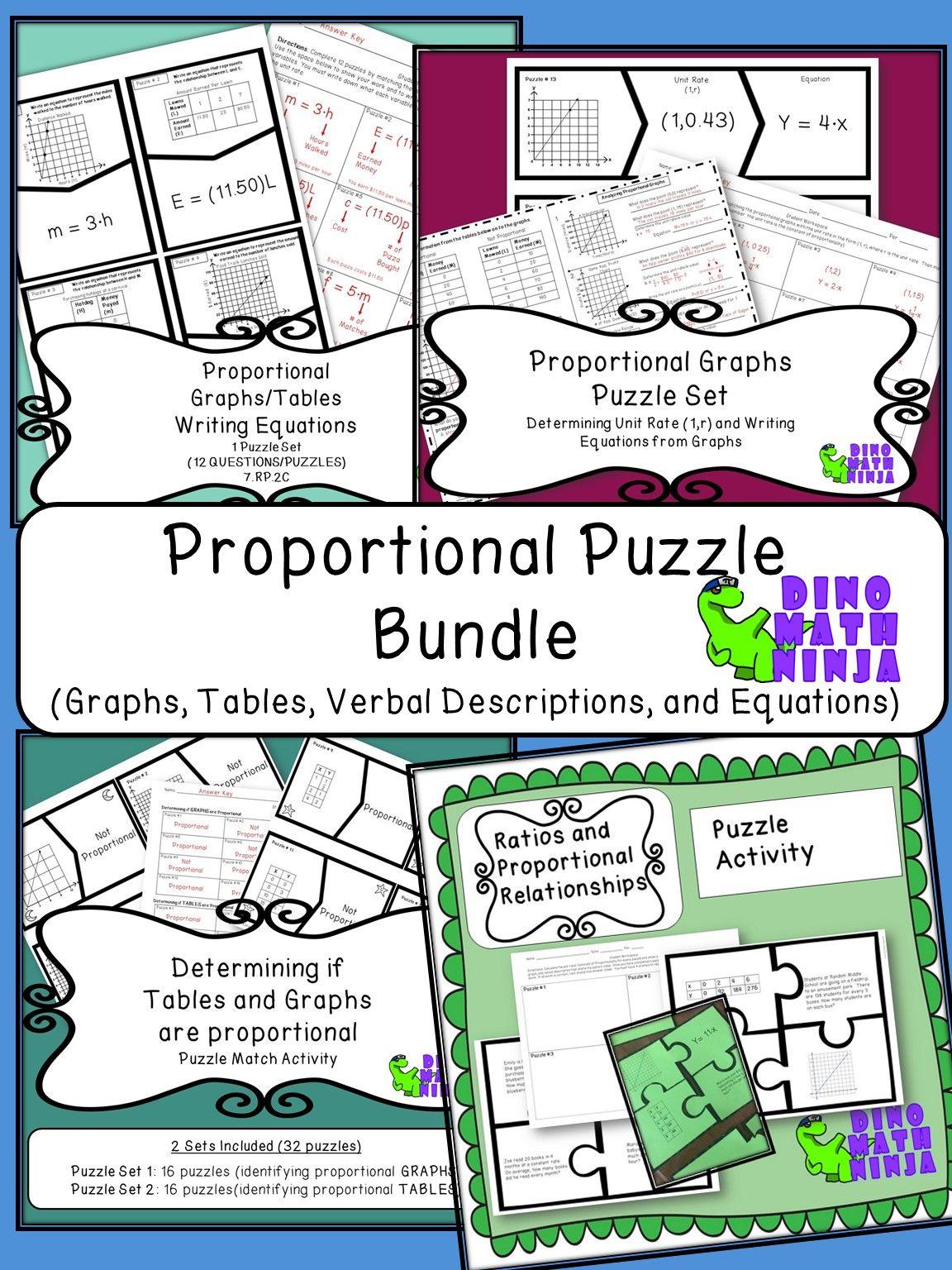 7 Rp Proportional Puzzle Bundle