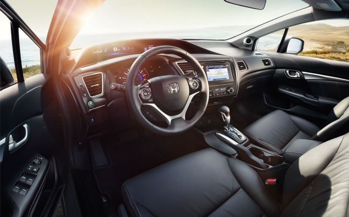2015 Honda Civic Sedan Interior Photo Gallery Official Site