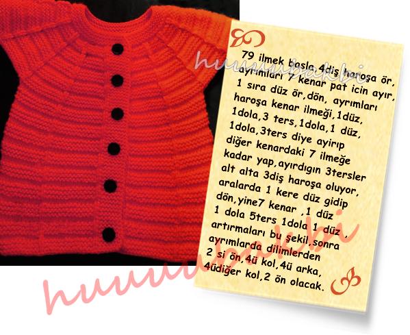 anlatımlı örgüler,knit baby vest