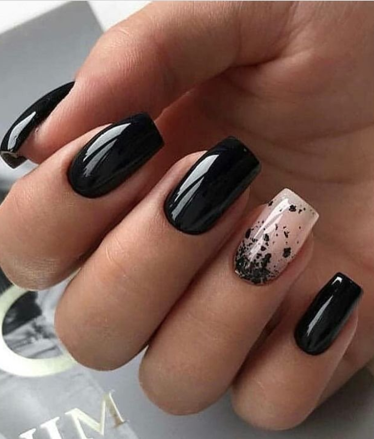 110 Best Natural Short Nails Design For Fall Page 100 Of 116 Latest Fashion Trends For Woman Matte Nails Design Black Nail Designs Square Nail Designs