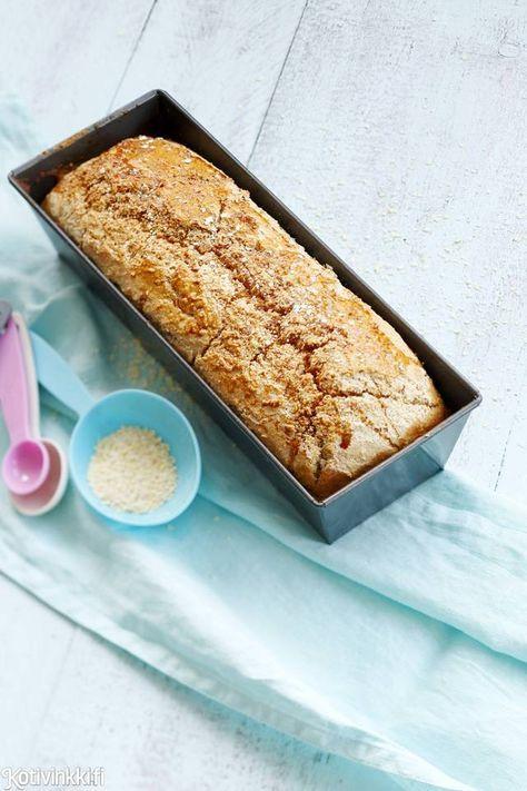 Gluteeniton hunaja-hirssivuokaleipä | Kotivinkki