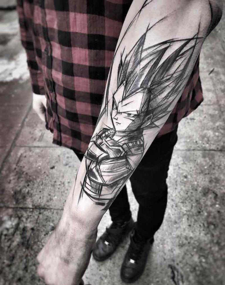 The Very Best Dragon Ball Z Tattoos Z Tattoo Dragon Ball Tattoo