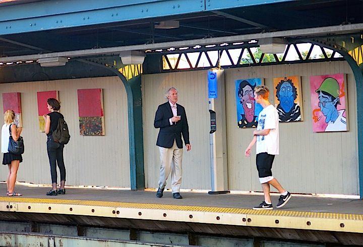<em>Apostrophe NYC</em> Transforms Subway Station into a Pop Up Gallery